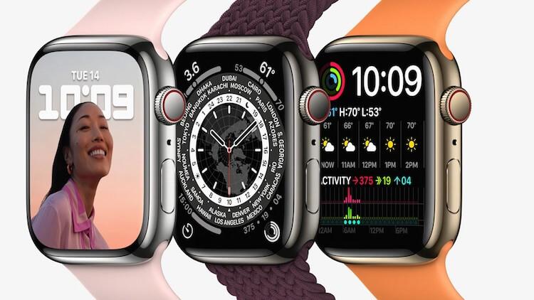 Когда выйдут Apple Watch 7